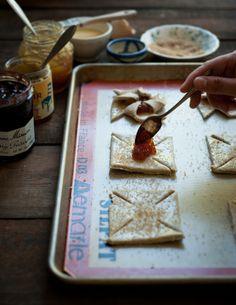 Desserts for Breakfast: Rye and Marmalade Pinwheel Cookies (aka: Joulutorttu)
