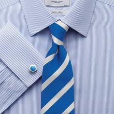 Sky Bengal non-iron classic fit shirt | Classic fit dress shirts from Charles Tyrwhitt | CTShirts.com