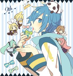 Aitetsu x Blue Moon Vocaloid Kaito, Kaito Shion, Kagamine Rin And Len, Mikuo, Iwaoi, Shinigami, Black Butler Kuroshitsuji, Fujoshi, Blue Moon