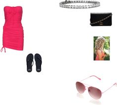 """""""hot summer day outfit beachy dress"""" by alissaharthausen on Polyvore"""