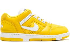 88a9d511d7688 Nike SB Air Force 2 Low Supreme Yellow