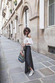 Уличная мода: Новые модные луки от француженки Zoé Alalouch: весна 2017