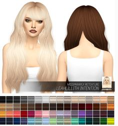 Miss Paraply: Leahlillith Intention: Solids • Sims 4 Downloads