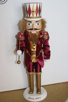 Really Cool Nutcrackers: Birthstone Nutcracker Collection for 2012