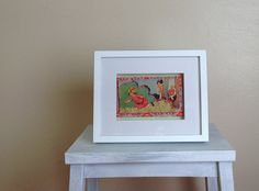 Hide n Seek - Vintage Children's Book Framed 3D Artwork on Etsy, $35.00 AUD