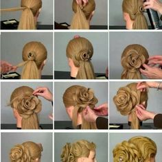 Sophisticated Bun Decorated with a Cute Bow - DIY - AllDayChic
