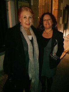 Entrevistando a la periodista Rosa Maria Calaf. 24/11/14