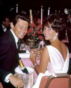 Eddie Fisher & Elizabeth Taylor (m. 12th May 1959 divorced 6th March 1964)
