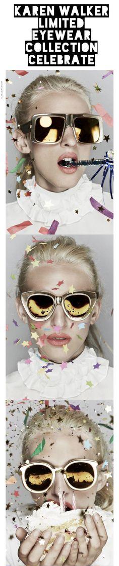 ~Karen Walker Eyewear Collection Celebrate | The House of Beccaria