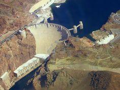 ABD'de bulunan Hoover barajından bir görüntü