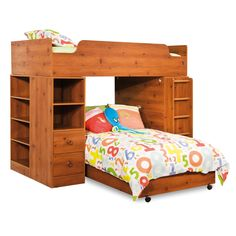 This gorgeous bed adds style and luxury to your bedroom. This high-quality furniture is available in a sunny pine finish.