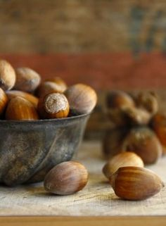 """""""Nuts""""  for bowl fillers!  How easy is that?!  It would be nice to have that little bowl... but I can find something in my prim stash!"""