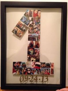 My first Pinterest project. My wonderful mom helped me. Anniversary gift for my one year with my girlfriend. & 15 Best anniversary ideas for girlfriend images | Birthday gifts ...