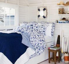 The Lexington company cozy nautical bedroom