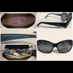 Maui Jim Pearl City sunglasses I have a brand new pair of Maui Jim sunglasses for sale. These have never been worn. They retail for $229+tax. I am asking $170 OBO.  Style # MJ 214-03A Color: Black Blue  Brand new, never worn! Maui Jim Accessories Sunglasses