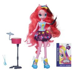 My Little Pony Equestria Girls Singing Pinkie Pie Doll My Little Pony http://www.amazon.com/dp/B00ECV52E2/ref=cm_sw_r_pi_dp_3RhIub0N7GXFR