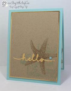 I used the Stampin' Up! Picture Perfect stamp set to create a clean and simple card to share today. The design for my card was loosely inspired by CAS(E) this Sketch #154. The gold touches on my ca...