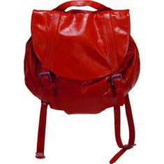 Latico Jem Backpack 7986 Women`s - Red Leather, Sling Backpacks