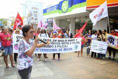 Blog da jornalista Olívia de Cássia © : Mulheres fazem ato público em comemoração ao Dia 8...