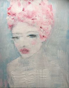 """""""petals from the past"""", painting Best Portraits, Art Drawings, The Past, Dom, Artist, Artwork, Paintings, Furniture, Work Of Art"""