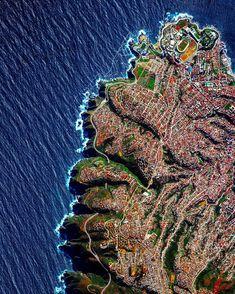 Valparaíso, Chile  (Foto: Benajmin Grant/Daily Overview)