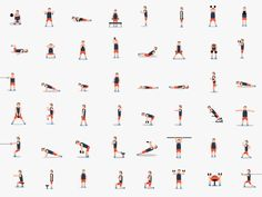 ALL IN ONE! 48 Dribble Workout Poses In One Picture!