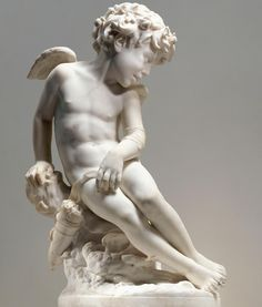 Cherub by Jean-Baptiste Carpeaux Met Museum Carpeaux, Greek And Roman Mythology, Stone Statues, Jean Baptiste, Art Sculpture, Chef D Oeuvre, Angel Art, Stone Art, Ancient Art