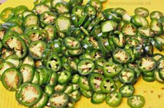Cowboy Candy (candied jalapeños) / The Grateful Girl Cooks! Pickled Jalapeno Peppers, Candied Jalapenos, Stuffed Jalapeno Peppers, Pepper Jelly Recipes, Jalapeno Recipes, Canning Soup, Cowboy Candy, Freezing Fruit, Canned Apple Pie Filling