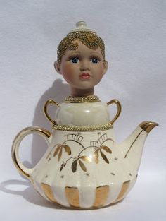Golden Girl  is now on Etsy or see her on my blog at http://teawithlavera.blogspot.com/    Tea With Lavera