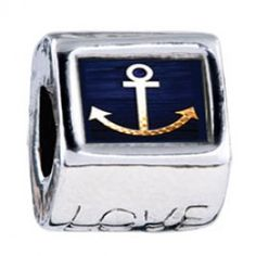 Anchor Symbol Photo Love Charms  Fit pandora,trollbeads,chamilia,biagi,soufeel and any customized bracelet/necklaces. #Jewelry #Fashion #Silver# handcraft #DIY #Accessory