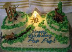 Hunting Cake 9-12-09