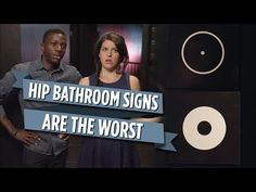 ▶ Hip Bathroom Signs Are The Worst - YouTube