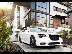 white Chrysler 300 #home #luxury