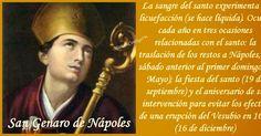 SAN JENARO DE NÁPOLES   (s. III †305)  Nápoles, Italia - Puzzuoli…