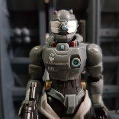 Robot ammobot acid rain