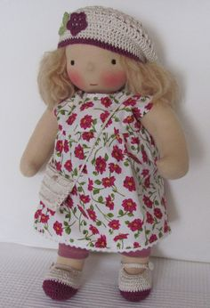 Waldorf inspired doll 15 inch