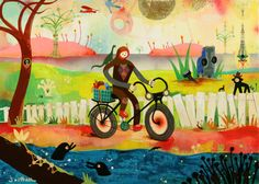 Just discovered the world of Souther Salazar. What a cool place!
