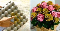 Mikor megláttam ezeket az ötleteket, a szavam is elállt! Nem tudtam, hogy ennyi minden készíthető tojástartókból! - Bidista.com - A TippLista! Cd Crafts, Diy Crafts Hacks, Decor Crafts, Diy And Crafts, Paper Crafts, Simple Birthday Decorations, Unique Mehndi Designs, Egg Carton Crafts, Christmas Ornament Crafts