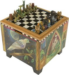 Chess Board ottoman by Sticks - pic 2 of 2...