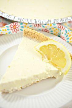 Weight Watchers Pie, Weight Watchers Cheesecake, Weight Watchers Desserts, Lemon Cheesecake Recipes, Lemon Recipes, Ww Recipes, Sweet Recipes, Easter Recipes