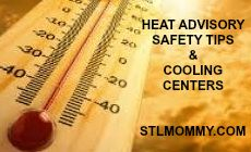 St. Louis Heat Advisory Safety Tips & Cooling Centers