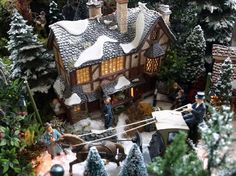 This girl makes the most miniature village scenes. christmas-favorites