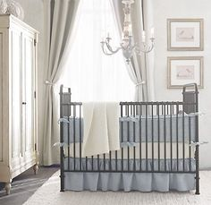 new baby/child furniture from restoration hardware. So gorgeous