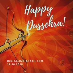 Happy Dussehra to all. Keep lightning your inner soul. Happy Dussehra Wishes, Lightning, Neon Signs, Lightning Storms, Lighting