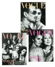 Carine Roitfeld celebrates the spirit of the month of Cannes with the star studded May issue of. Vogue Magazine Covers, Vogue Covers, Carine Roitfeld, Guinness World, Penelope Cruz, Vintage Vogue, Vogue Paris, Fashion History, Fashion Addict