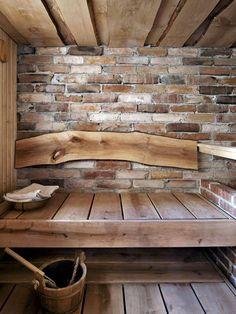 213c748e1797bec2c64bc822db3df488 Diy Sauna, Sauna Ideas, Sauna Steam Room, Sauna Room, Rustic Saunas, Design Sauna, Sauna Hammam, Sauna Shower, Interior Design Shows