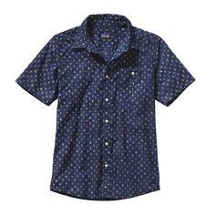 Patagonia Men\'s Go To Shirt - Scorpo Pequeno: Channel Blue SPQB
