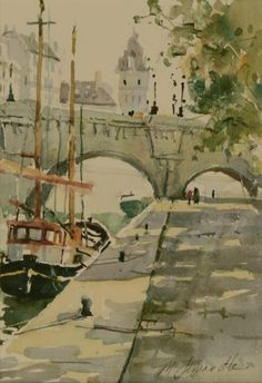 Le Seine Paris  Marilyn Simandle