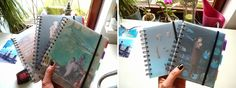 copyright barbara böttcher spiralbound books with my collages