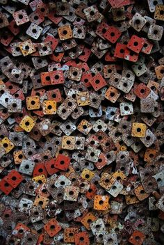 Rusted hardware..
